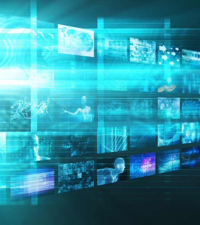 Video Analytics Technology and Content Analysis Concept
